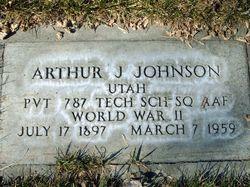 Arthur J Johnson