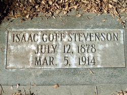 Isaac Goff Stevenson