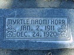 Myrtle Naomi Horr
