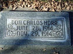 Don Carlos Horr
