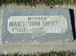 Maud <I>Dunn</I> Smickle