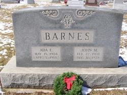 Ada Elizabeth <I>Nusbaum</I> Barnes