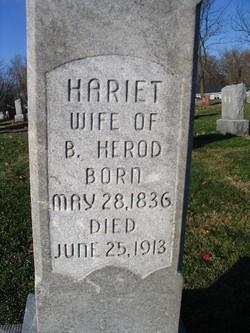 Hariet <I>Miner</I> Herod
