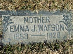 Emma Jane <I>Hayward</I> Watson