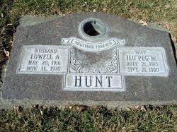 Ilo Peggy <I>Nutter</I> Hunt