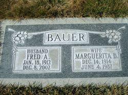 Marguerita <I>Beck</I> Bauer