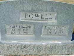 """Evalina L """"Eva"""" <I>Hakanson</I> Powell"""