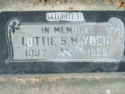 Laura Lottie <I>Schultz</I> Hayden