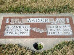 Nora Margaret <I>Guild</I> Watson