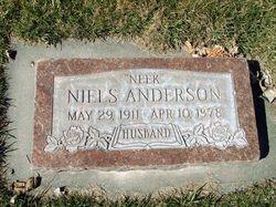 """Niels A. """"Neek"""" Anderson"""