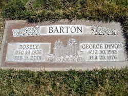 George DeVon Barton