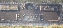 Dorothy A <I>Mudd</I> Rowe