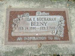 Ida Lee <I>Buchanan</I> Beeny