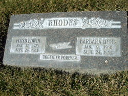 Floyd Edwin Rhodes