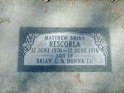Mathew Brian Rescorla