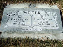 Edward Hyrum Parker
