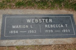 Marion Levi Webster