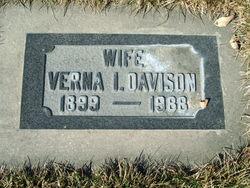 Verna Irene <I>Malmstrom</I> Davison