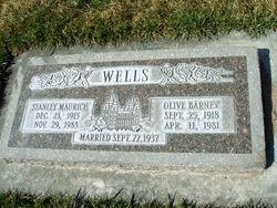 Olive Sophia <I>Barney</I> Wells