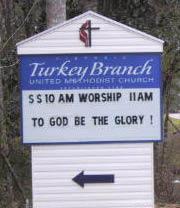 Turkey Branch United Methodist Church Cemetery