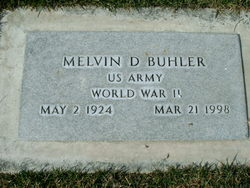Melvin D Buhler