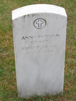 Anna <I>Peppard</I> Grant