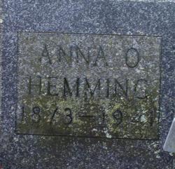 Anna O Hemming