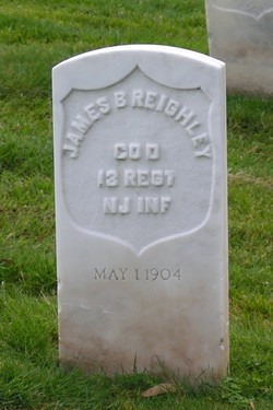 Pvt James Braiden Reighley