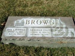 Zachariah Evans Brown