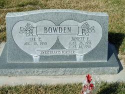 Janett <I>Eavenson</I> Bowden