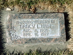 Nancy Lee <I>Shelton</I> Hall