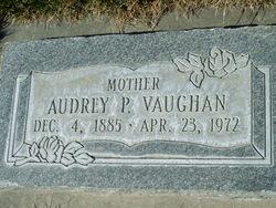 Audrey <I>Porter</I> Vaughan