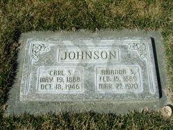 Catherine Amanda <I>Stephenson</I> Johnson
