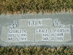 Grace Cyrene <I>Pierson</I> Fox