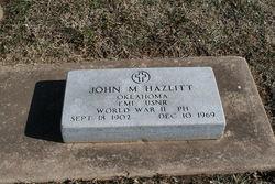 John Madden Hazlitt