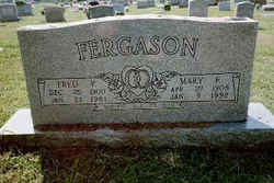 Mary Elizabeth <I>Tillman</I> Fergason