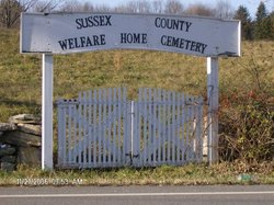 Sussex County Welfare Home Cemetery