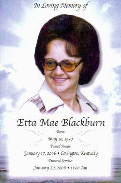 Etta Mae Blackburn
