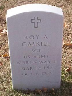 Roy A Gaskill