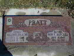 Ann Elizabeth <I>Burgess</I> Pratt