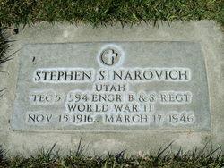 Stephen Samuel Narovich
