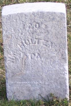Pvt William Holtzman