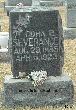 Cora Belle <I>Whitney</I> Severance