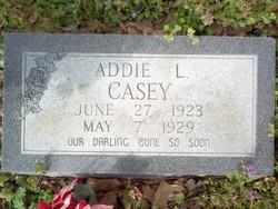 Addie L Casey