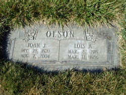 Lois <I>Adams</I> Olson