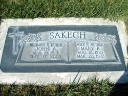 Mary Louise <I>Kosovich</I> Sakech