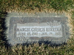 Marjorie <I>Church</I> Herrera
