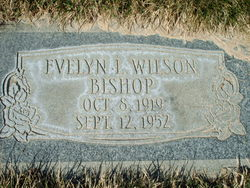 Evelyn Louise <I>Wilson</I> Bishop