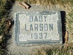 Infant daughter Larson
