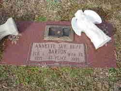 Annette Sue <I>Huff</I> Barton